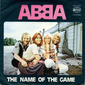 Abba album the name of the game